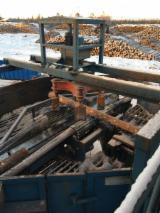 Log deck / log turner /positioner Interlog