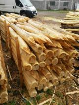 Poutres Rondes Cylindriques - Vend Piquets, Tuteurs Acacia