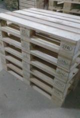 Піддони - Упаковка - Європіддони EPAL, Відновлений - Використовується У Хорошому Стані