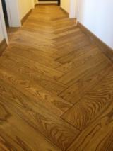 Engineered Wood Flooring - Multilayered Wood Flooring - European 2-layer oak flooring ( birch plywood + 4/6 mm oak )