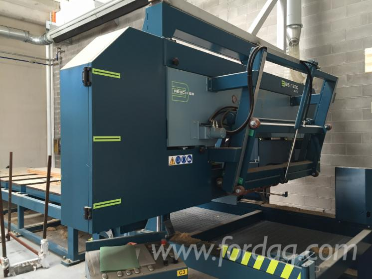 Used-Resch---3-ES-1200-Auto-2013-Solid-Wood-And-Panel-Sawing-Machines---Other-For-Sale
