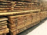 Softwood  Unedged Timber - Flitches - Boules For Sale - Fir , Spruce  Boules 50 mm Romania