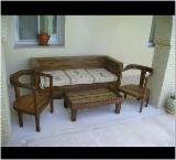 Садовая Мебель - Садовые Наборы, Чистый Антикварный, 10 штук Одноразово