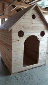Casă Din Lemn Rotund - Căsuța de lemn