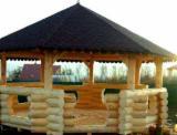 Wholesale Wood Kiosk - Gazebo - Fir  Kiosk - Gazebo Romania