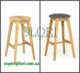 Oak bar stool RENATA