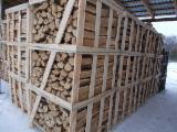 Ukraine - Fordaq Online Markt - Eiche Brennholz Ungespalten 7-15 cm