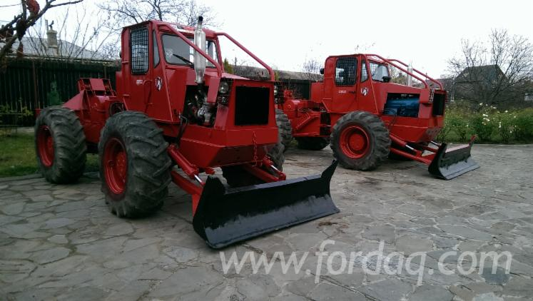 Used-Perkins-2007-Articulated-Skidder