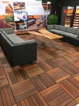 Exterior Decking  Ipe Lapacho - Deck Tiles Garden Tiles