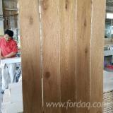 Großhandel Holzböden - Fordaq - Eiche , Einblatt Breitdiele