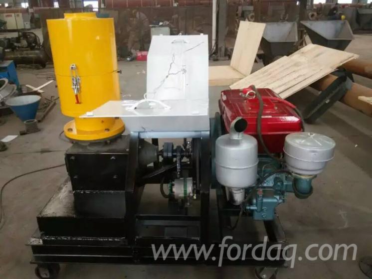 Diesel-Engine-Flat-Die-Wood-Pellet