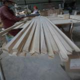 China Mouldings, Profiled Timber - Paulownia Wood Triangular Chamfer