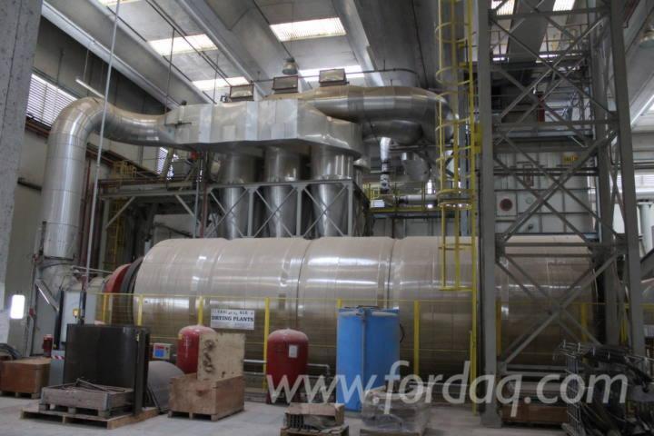 Impianto di produzione pellet completo 15 ton h for Impianto pellet usato
