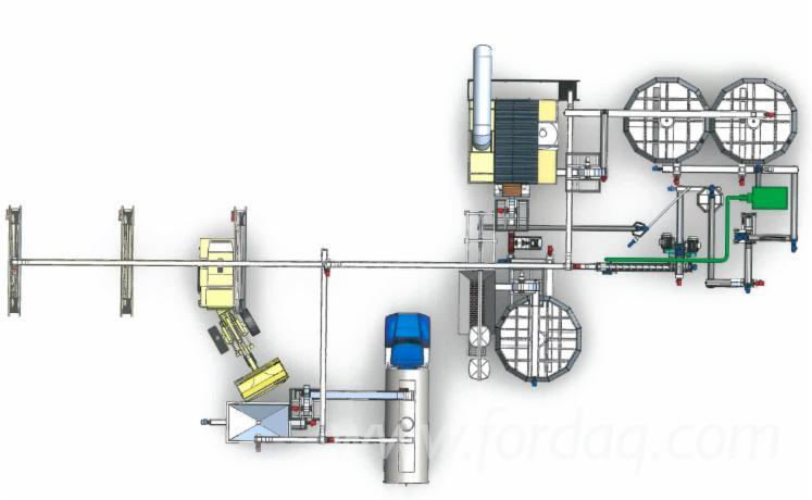 Vendo pellet linea di produzione salmatec rematec maxima for Impianto produzione pellet usato
