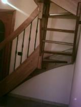 Italy Finished Products - Beech Stairs Italy
