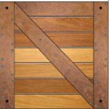 Exterior Decking  For Sale - Cumaru FSC Deck Tiles / Garden Tiles
