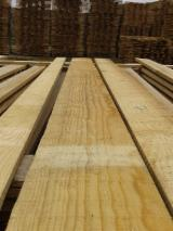 Softwood Timber - Sawn Timber - Tables for carpentry, clean table without knots, Galicia Pinus Maritimus, Pinus pinaster