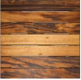 Exterior Wood Decking - Muiracatiara FSC Deck Tiles / Garden Tiles