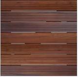 Exterior Wood Decking - IPE FSC Deck Tiles / Garden Tiles