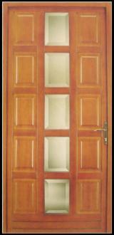 Двері, Вікна, Сходи - Європейська Деревина Твердих Порід, Двері, Деревина Масив, Дуб, Фарба