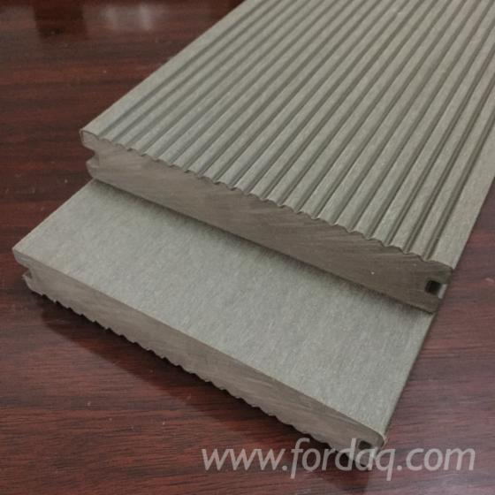 Exterior wood plastic composite decking for Plastic composite decking
