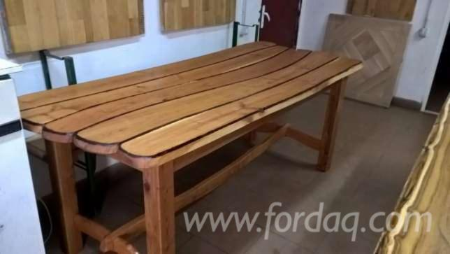 Contemporary Oak Restaurant Tables Romania