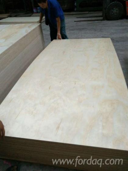 Plywood 2440mmx1220mm for Furniture quality plywood