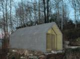 Casas De Madera-estructura De Madera Precortada En Venta - Casa De Paneles Modulares , Agathis