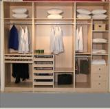 Engineered Panels for sale. Wholesale Engineered Panels exporters - 1220x2440x18mm Melamine laminated MDF for making wardrobe