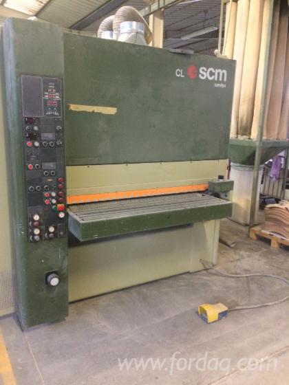 Gebraucht-SCM-CL130-1995-Schleifmaschinen-Mit-Schleifband-Zu-Verkaufen