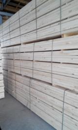 Nadelschnittholz, Besäumtes Holz Lärche Larix Spp. Zu Verkaufen - Bretter, Dielen, Nadelholz, Thermisch Behandelt - Thermoholz