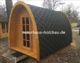 Gartenprodukte Deutschland - Fasssauna, Saunafass, Gartensauna, Campingfass, Campingpod, Saunapod, Schlaffass