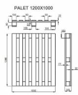 Pallet Pallets And Packaging - New Pallet Romania