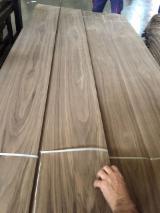 天然单板, 黑胡桃木, 四面的,刨光的