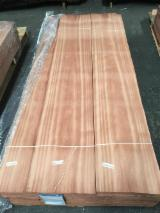 Sapelli  Quartered, Plain Natural Veneer Turkey