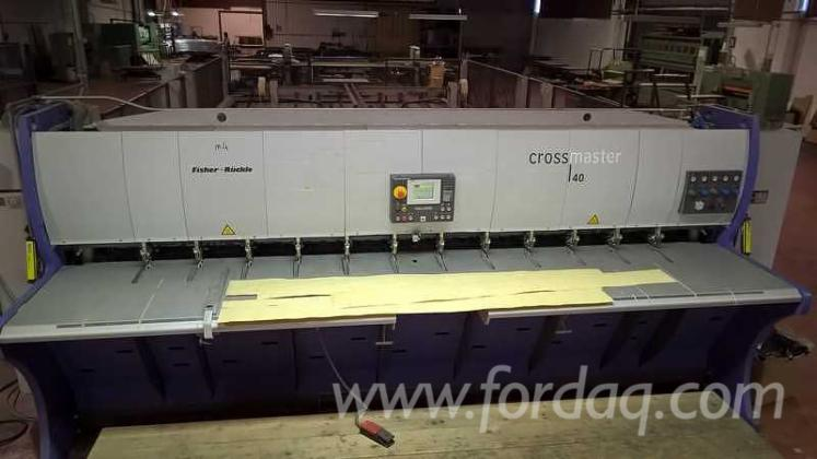 Veneer-cross-splicer-FISHER-RUCKLE-type-FZR-40