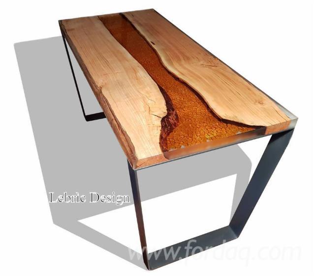 Tavoli in legno e resina epossidica - Tavoli in legno prezzi ...