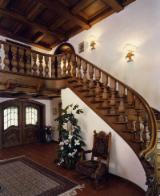 Puertas, Ventanas, Escaleras - Maderas Duras (Europa, Norteamérica), Escaleras, Madera Maciza, Roble , Pintura