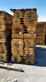Laubholz  Blockware, Unbesäumtes Holz Italien - Loseware, Kastanie