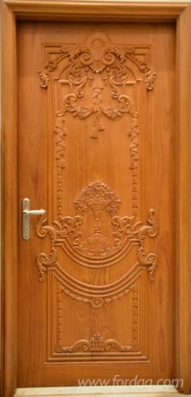 Handcrafted-Teak-Wood-Doors