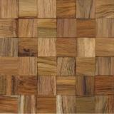 Edge Glued Panels Glued Discontinuous Stave  For Sale - wooden wall code: T02-TE01