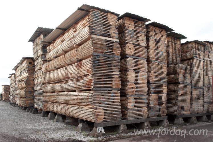 Roteichen-Schnittholz---Blockware--AD---KD--30-100-mm