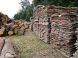 Laubholz  Blockware, Unbesäumtes Holz Zu Verkaufen - Blockware, Kirsche
