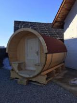 Casă De Vacanţă - Cabane din lemn tip butoi
