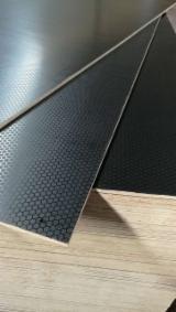 Plywood Panels  - 15mm black brown anti-slip film faced plywood poplar core wbp glue