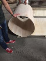 Plywood Panels  - bent plywood