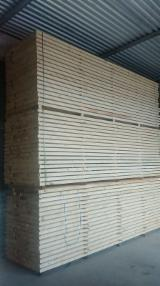 Softwood  Sawn Timber - Lumber - 50 mm Kiln Dry (KD) Spruce  Planks (boards) Romania