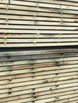 Laubholz  Blockware, Unbesäumtes Holz Zu Verkaufen Frankreich - Loseware, Eiche
