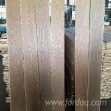 Flooring and Exterior Decking - OAK PARQUET FLOORING SMOKED BRUSHED AND WHITE OIL