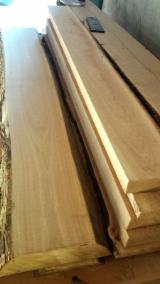Hardwood  Unedged Timber - Flitches - Boules - Oak half-edged timber, grades 0-1, butt rot, The best quality, big widths
